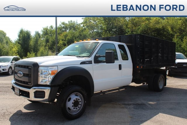 Pre-Owned 2015 Ford F-550SD XL