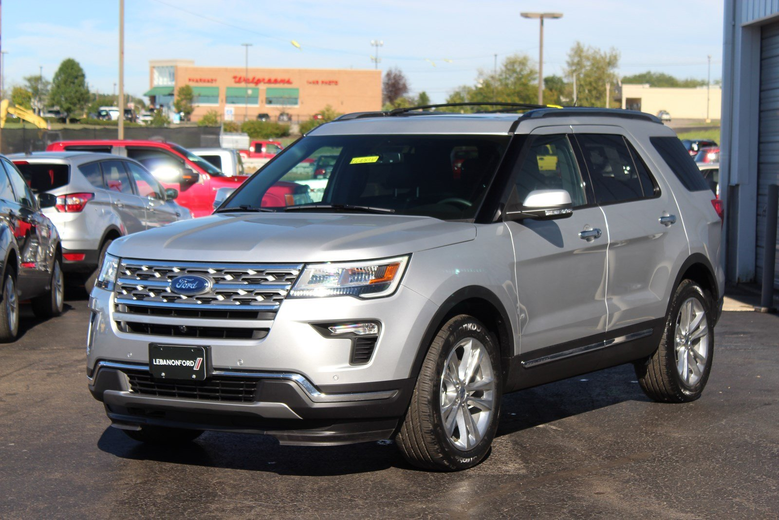 New 2019 Ford Explorer Limited Sport Utility In Lebanon Kga06330 2006 Check Charging System
